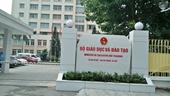 Sai phạm tại ĐH Đông Đô Bộ GD ĐT đang xem xét đơn vị, cá nhân liên quan