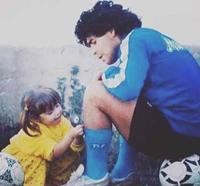 Con gái Maradona  Con sẽ sớm gặp lại bố