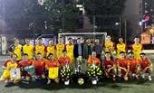 Giao lưu bóng đá giữa đội bóng Khối tuyên truyền và Chi cục thuế quận Hà Đông
