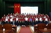Agribank trao tặng kinh phí hỗ trợ 15 nhà giàn DK1