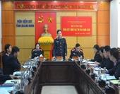 """Cụm thi đua số 3 ngành KSND 2 đơn vị được đề nghị xét tặng danh hiệu """"Cờ thi đua của Chính phủ"""""""