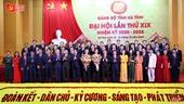 Danh sách Ban Chấp hành Đảng bộ Hà Tĩnh khóa XIX, nhiệm kỳ 2020 - 2025