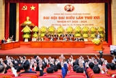 Danh sách Ban Chấp hành Đảng bộ thành phố Hải Phòng khoá XVI, nhiệm kỳ 2020 - 2025
