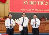 Bí thư Thị ủy được bầu làm Phó Chủ tịch UBND tỉnh Long An