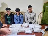 Bắt 3 đối tượng 10X vận chuyển 10 bánh heroin từ Lào về Điện Biên