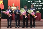 Chân dung 3 tân Phó Chủ tịch tỉnh Quảng Bình