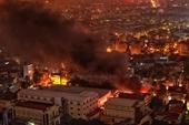 Vụ cháy tại Công ty CP dược phẩm Hà Tây  Cần sớm công khai đánh giá mức độ độc hại đến cuộc sống người dân