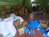 Phát hiện hơn 8 tấn găng tay y tế đã qua sử dụng tại xưởng sao chè ở Thái Nguyên