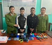 Hai đối tượng thuê xe ô tô đi từ Hưng Yên vào Hà Tĩnh để trộm cắp