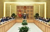 Thủ tướng Nguyễn Xuân Phúc Kiểm tra, xử lý nghiêm tiêu cực, tham nhũng để tạo môi trường đầu tư tốt nhất