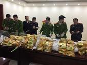 Bắt giữ 4 đối tượng ở Điện Biên vận chuyển hơn 200kg nghi ma túy