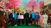 """EVNNPC trao tặng """"Sân chơi thiếu nhi – Gửi gắm yêu thương"""" cho Bệnh viện Đa khoa tỉnh Yên Bái"""