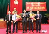 Tiền Giang, Ninh Thuận, Quảng Ngãi bầu Chủ tịch, Phó Chủ tịch UBND tỉnh