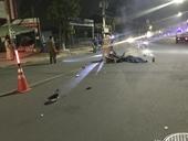 Say xỉn lái xe tông trực diện đầu xe tải, 2 thanh niên thương vong