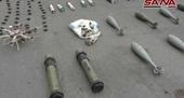 Syria thu giữ kho vũ khí khủng của các chiến binh khủng bố do phương Tây sản xuất
