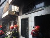 Cháy lớn thiêu rụi hoàn toàn căn nhà trong hẻm ở TP HCM