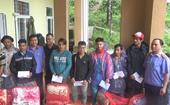 VKSND tỉnh Quảng Nam thăm hỏi, tặng quà đồng bào bị thiệt hại do bão lũ, sạt lở đất
