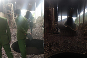 Nổ nồi hơi tại xưởng chưng cất tinh dầu quế làm cụ bà tử vong