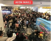 Cảnh giác khi đến Trung tâm Thương mại Aeon Mall lớn nhất Hải Phòng