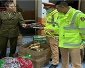 Cảnh sát giao thông tỉnh Quảng Ninh liên tục phát hiện hàng lậu