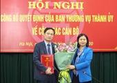 Nhân sự mới Hà Nội, Bà Rịa - Vũng Tàu, Bình Phước