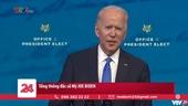 Đại cử tri Mỹ bầu ông Joe Biden làm Tổng thống