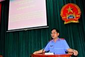 VKSND tỉnh Tây Ninh bồi dưỡng kỹ năng kiểm sát án dân sự