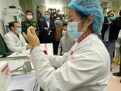 Những hình ảnh về tiêm vắc xin COVID-19 của Việt Nam