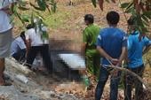 Tìm thân nhân của người đàn ông chết cháy ở lề đường