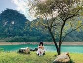 Non nước Cao Bằng đẹp như tranh qua ống kính điện thoại của cô gái Lâm Đồng