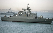 Hải quân Iran điều nhóm tàu chiến đến vùng biển quốc tế