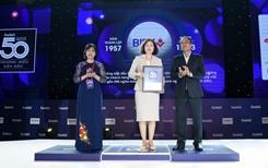 BIDV vào Top 50 thương hiệu dẫn đầu 2020