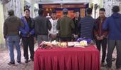 Truy bắt 4 đối tượng vận chuyển 30 000 viên ma túy, 2 Công an bị thương