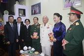 Chủ tịch Quốc hội Nguyễn Thị Kim Ngân làm việc với Bộ Tư lệnh Quân khu 5