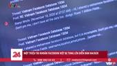 1 triệu tài khoản Facebook Việt bị tung lên các diễn đàn Hacker