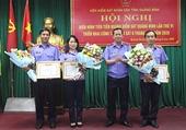 Viện trưởng tặng Bằng khen cho tập thể và cá nhân thuộc VKSND tỉnh Quảng Bình