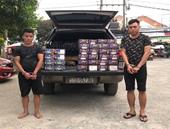 Bắt giữ nhiều vụ vận chuyển pháo nổ trái phép tại Đồng Nai