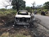 Người đàn ông mang xe ra nghĩa địa đốt là vì giận dỗi  vợ