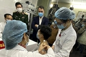 Tiếp tục tiêm thử nghiệm vắc xin Nano Covax cho 17 người tình nguyện