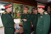 Phát huy truyền thống anh hùng, toàn quân chủ động thực hiện tốt nhiệm vụ chiến đấu trong thời bình