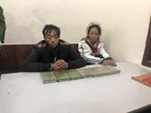 Bắt quả tang đôi nam nữ vận chuyển 7 bánh heroin tại Sơn La