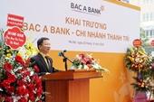 BAC A BANK khai trương chi nhánh Thanh Trì