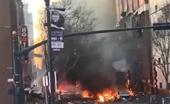 Cảnh tượng kinh hoàng vụ nổ bom xe ở thành phố Nashville, Mỹ