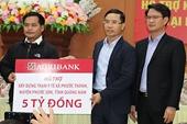Agribank Ủng hộ 5 tỷ đồng khắc phục hậu quả lũ lụt tại huyện Phước Sơn, tỉnh Quảng Nam