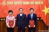 Bộ Ngoại giao, Học viện Chính trị Quốc gia HCM bổ nhiệm nhân sự mới