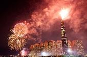 TPHCM bắn pháo hoa tại 4 điểm để chào mừng năm 2021