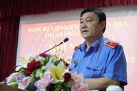 Đảng ủy VKSND TP Cần Thơ lãnh đạo tốt việc thực hiện nhiệm vụ chuyên môn