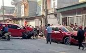 Xe bán tải đâm liên hoàn làm 1 người tử vong, nhiều người bị thương