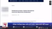 Tổng thống Nga gửi lời chúc năm mới Việt Nam