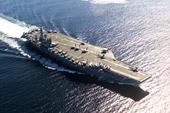 Mỹ bất ngờ tuyên bố tàu sân bay hạt nhân USS Nimitz sẽ ở lại Trung Đông đối phó với đe dọa từ Iran